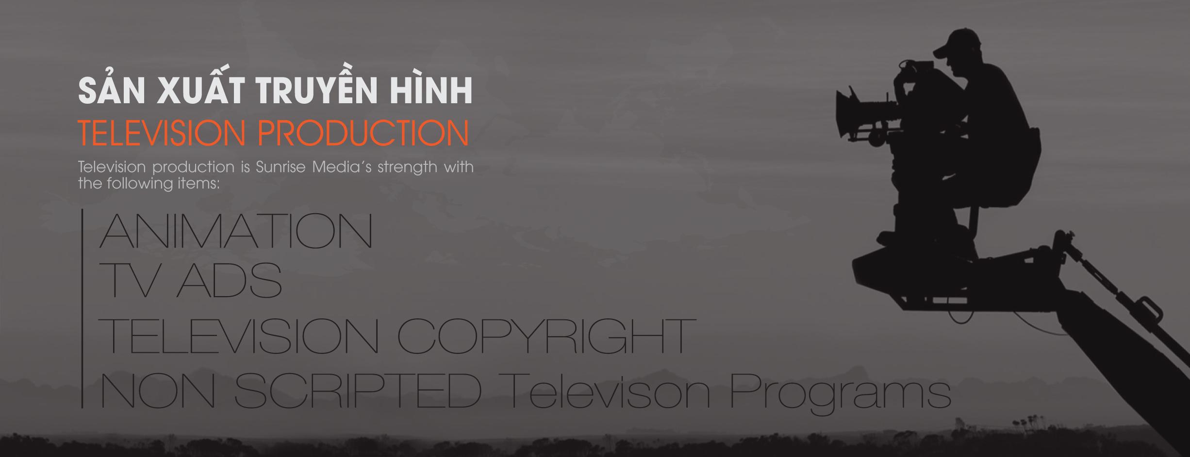 Sản xuất truyền hình